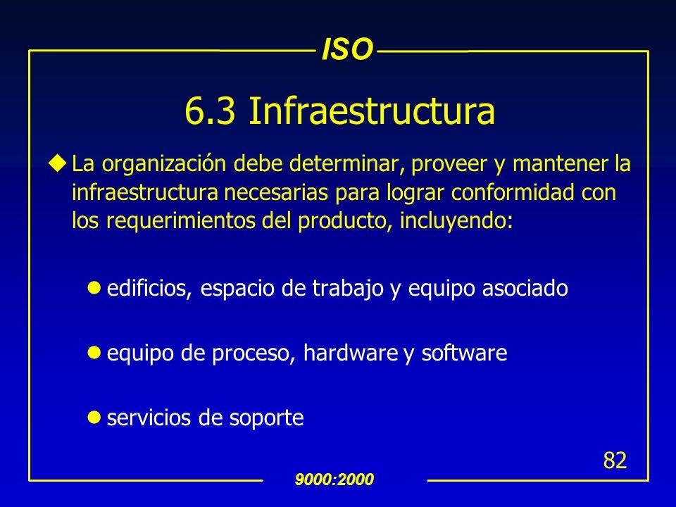 6.3 Infraestructura