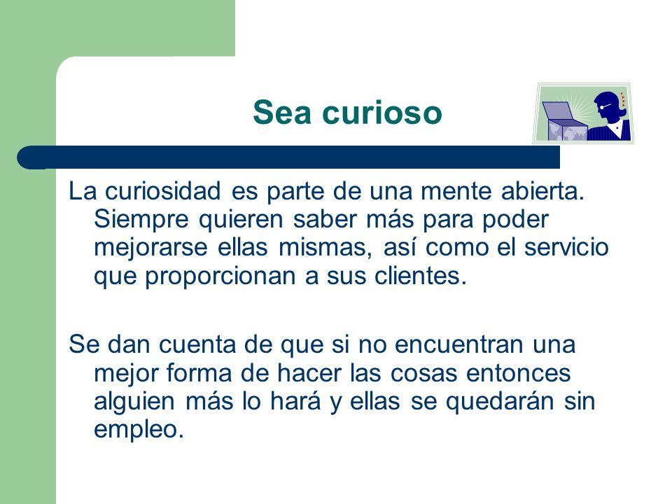 Sea curioso