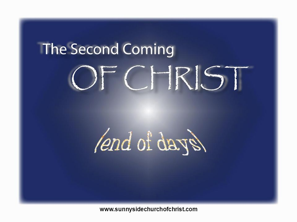 There are many doctrines associated with the second coming of Christ either directly or indirectly. With the second coming of Christ we may think of the doctrine of the resurrection of the dead, the doctrine of judgment, the doctrine of the end of the world, the doctrine of heaven and hell. These things are tied to the fact that Jesus will one day return.