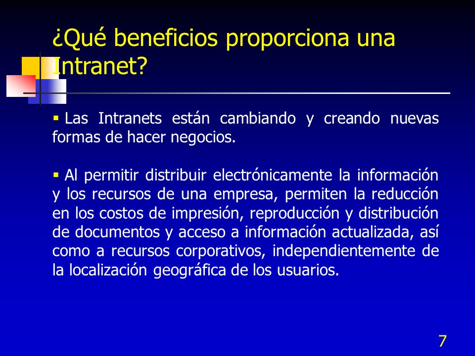 ¿Qué beneficios proporciona una Intranet
