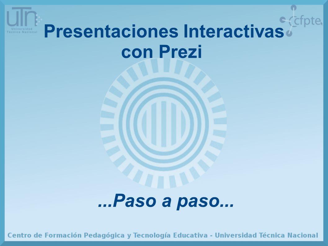 Presentaciones Interactivas con Prezi