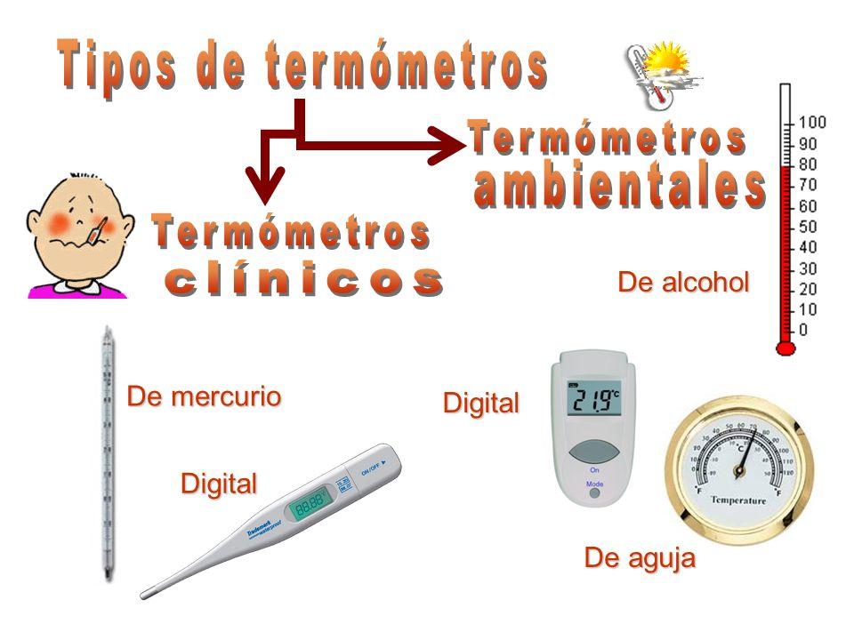 Tipos De Termómetros Termómetros Ambientales