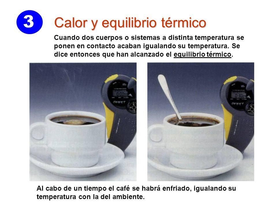 3 Calor y equilibrio térmico