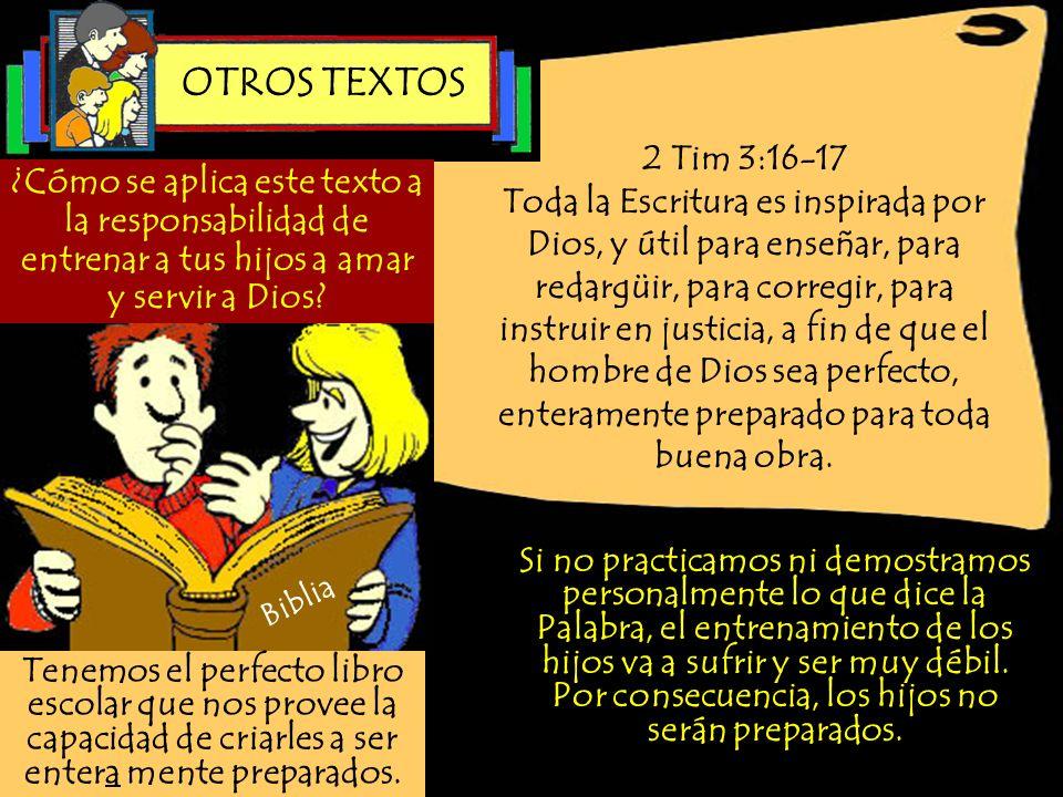 OTROS TEXTOS2 Tim 3:16-17.