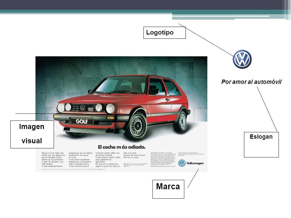 Logotipo Por amor al automóvil Imagen visual Eslogan Marca