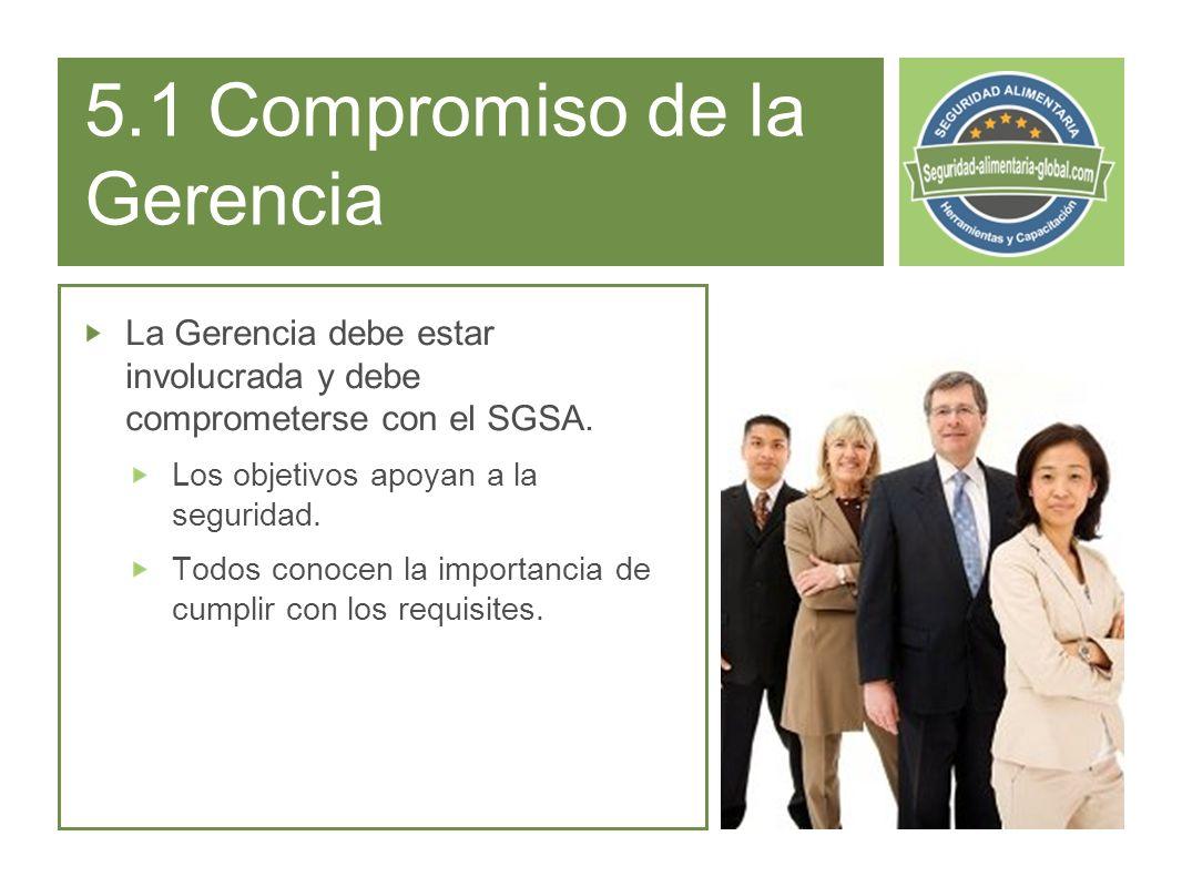 5.1 Compromiso de la Gerencia
