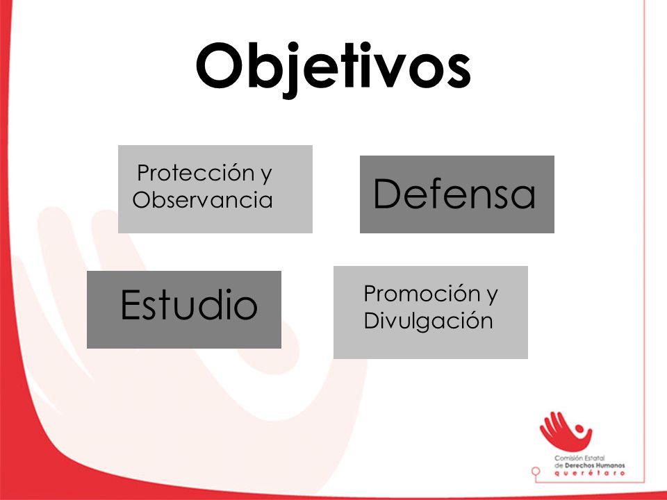 Objetivos Defensa Protección y Observancia Estudio