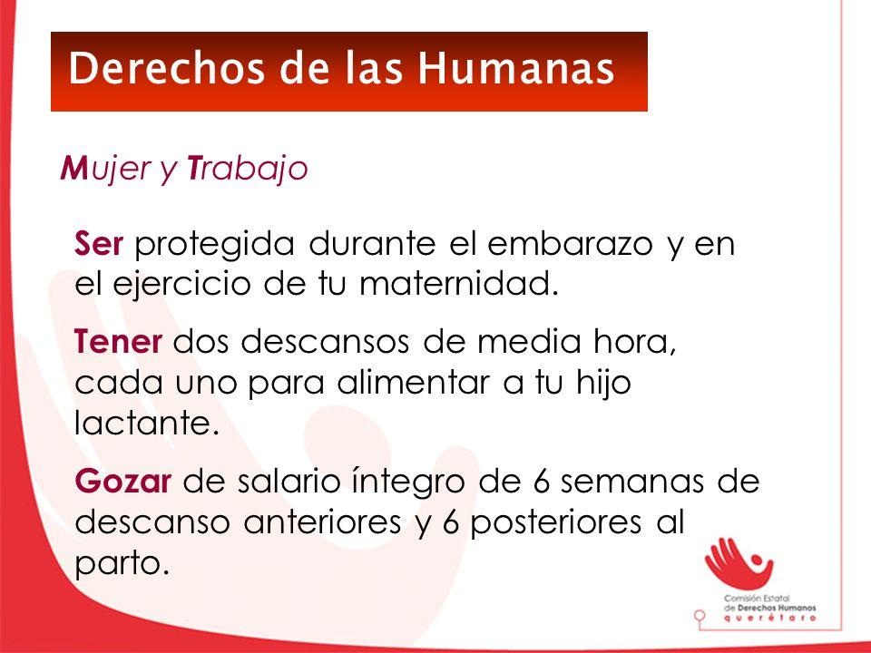 Derechos de las Humanas