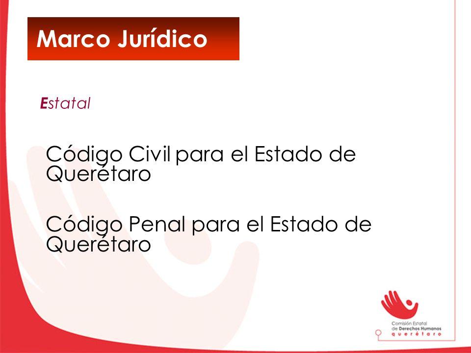 Marco Jurídico Código Civil para el Estado de Querétaro