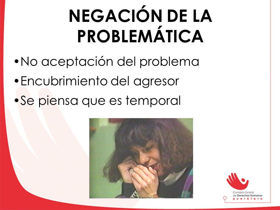 NEGACIÓN DE LA PROBLEMÁTICA