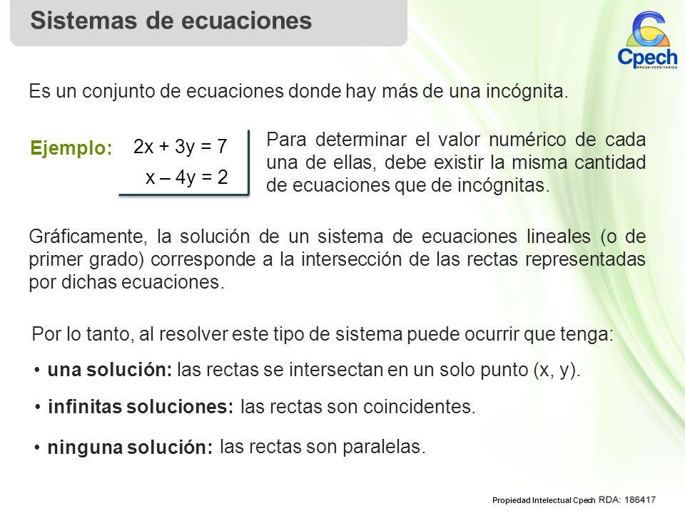 infinitas soluciones: