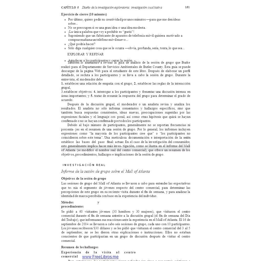 Diseño de la investigación exploratoria: investigación cualitativa ...