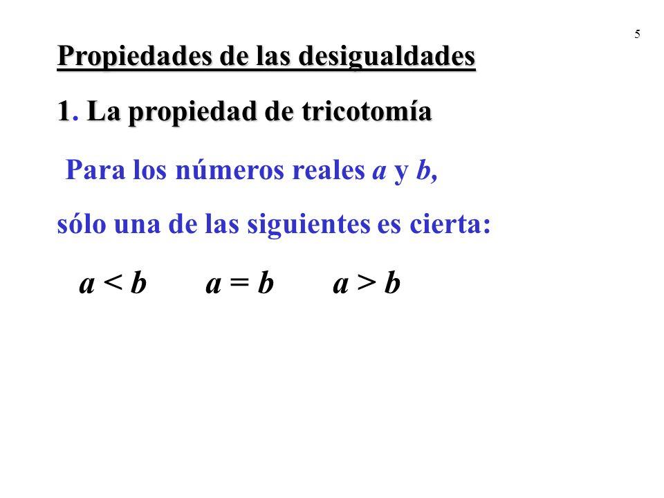 Para los números reales a y b,