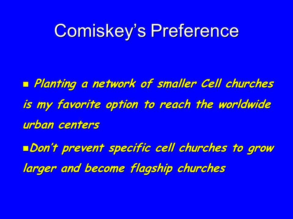 Comiskey's Preference