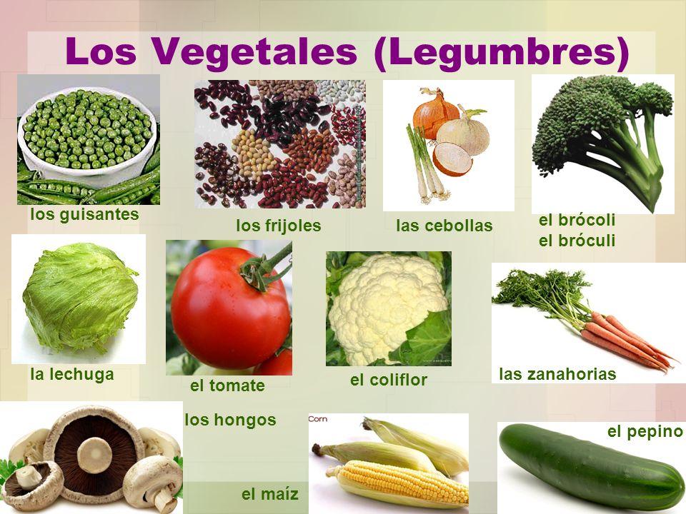 Los Vegetales (Legumbres)