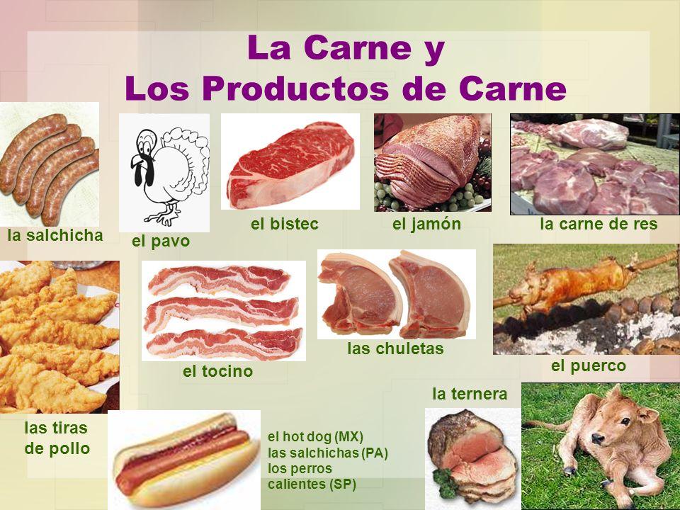 La Carne y Los Productos de Carne