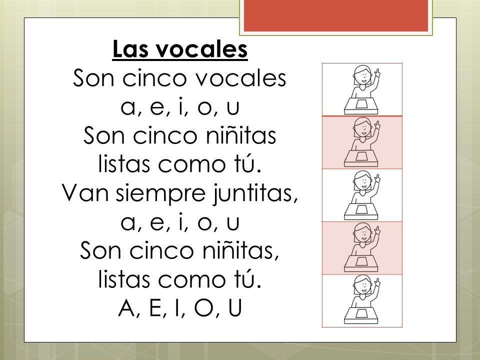 Poesia De Las Vocales: Unidad 2: Las Vocales Maestra Robertson.