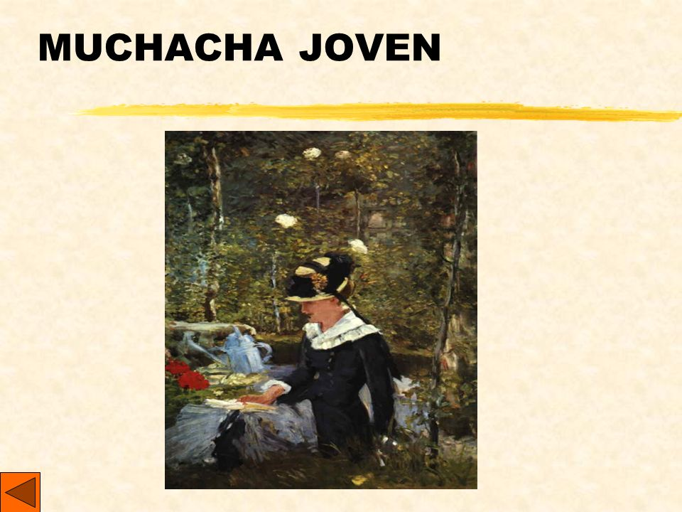 MUCHACHA JOVEN