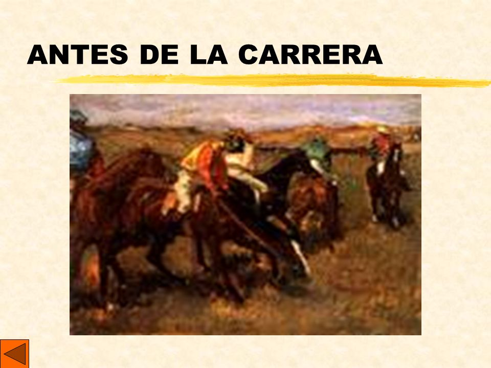 ANTES DE LA CARRERA