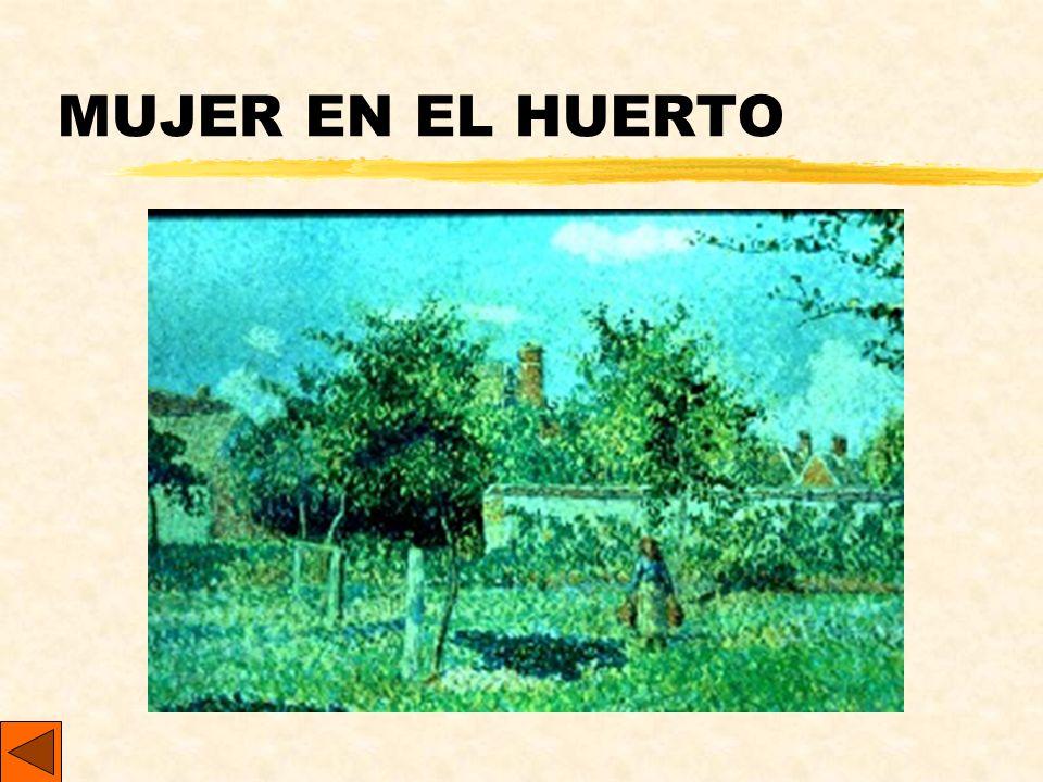 MUJER EN EL HUERTO