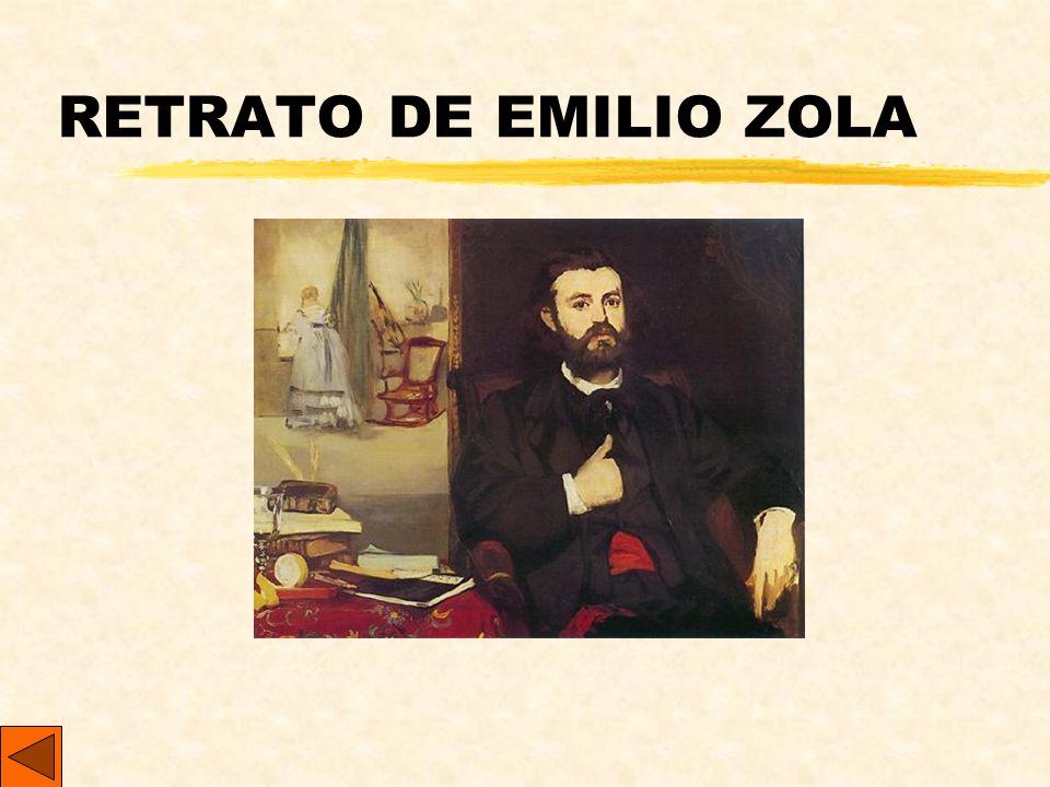 RETRATO DE EMILIO ZOLA