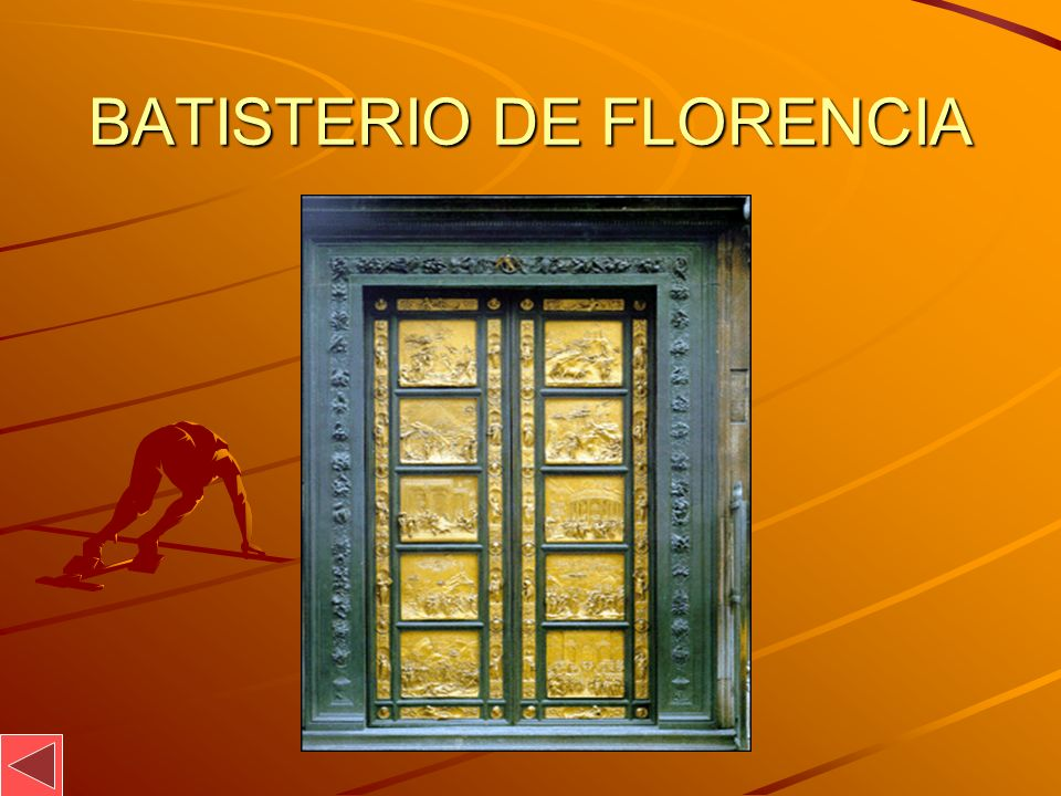 BATISTERIO DE FLORENCIA