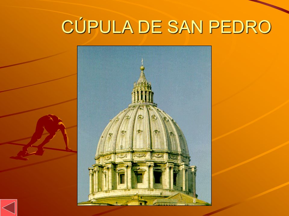 CÚPULA DE SAN PEDRO