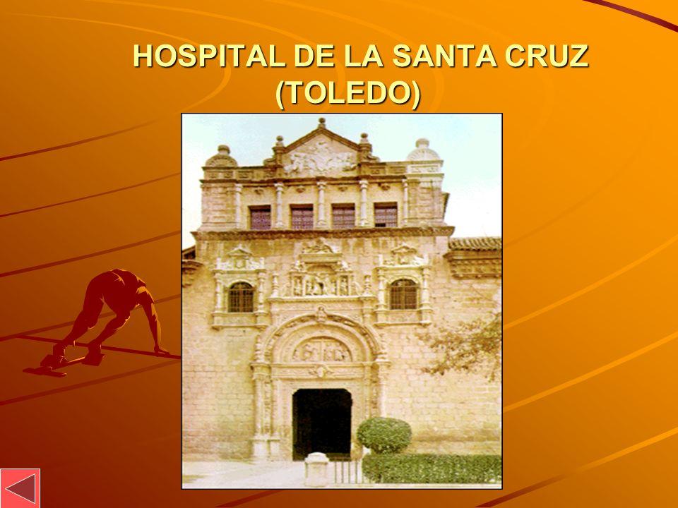 HOSPITAL DE LA SANTA CRUZ (TOLEDO)