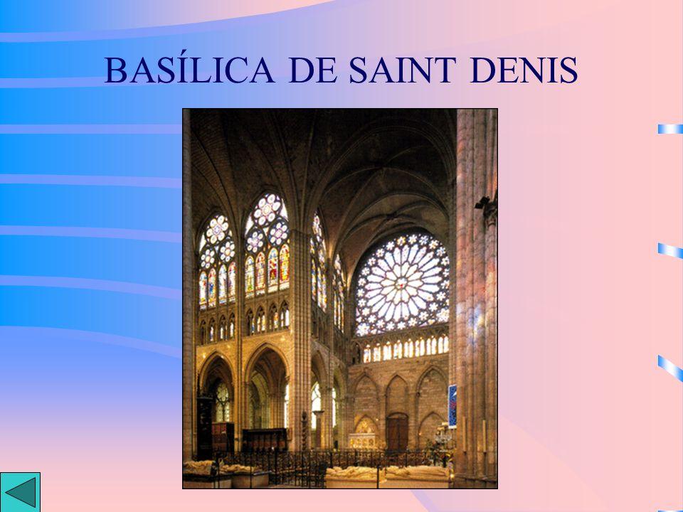 BASÍLICA DE SAINT DENIS