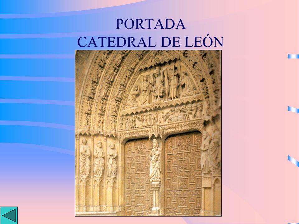 PORTADA CATEDRAL DE LEÓN