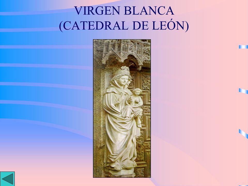 VIRGEN BLANCA (CATEDRAL DE LEÓN)