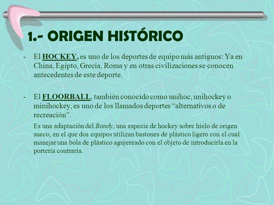 1.- ORIGEN HISTÓRICO