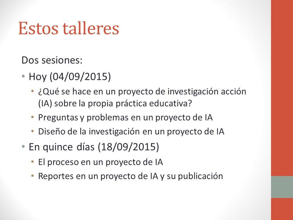 La investigaci n acci n sobre la propia pr ctica educativa for La accion educativa en el exterior