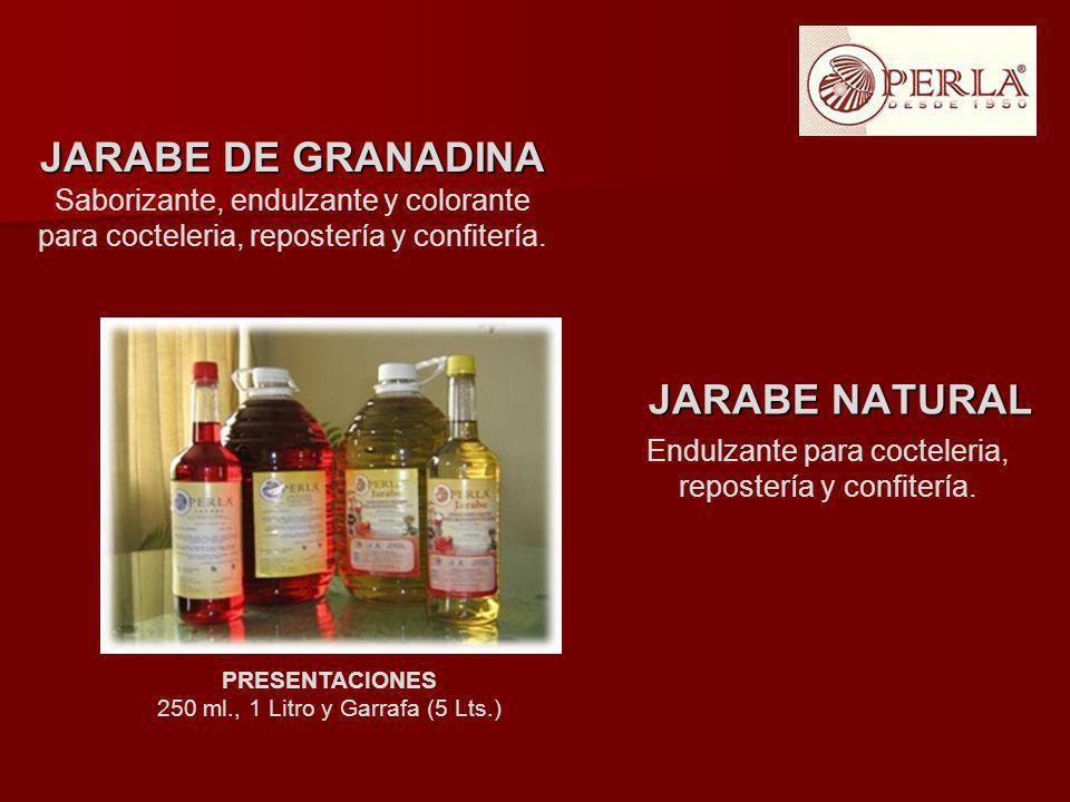 JARABE DE GRANADINA JARABE NATURAL
