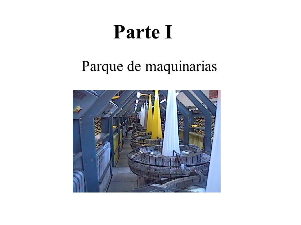 Parte I Parque de maquinarias