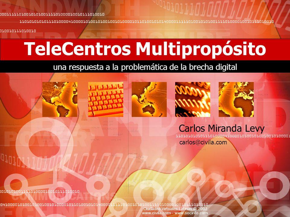 TeleCentros Multipropósito