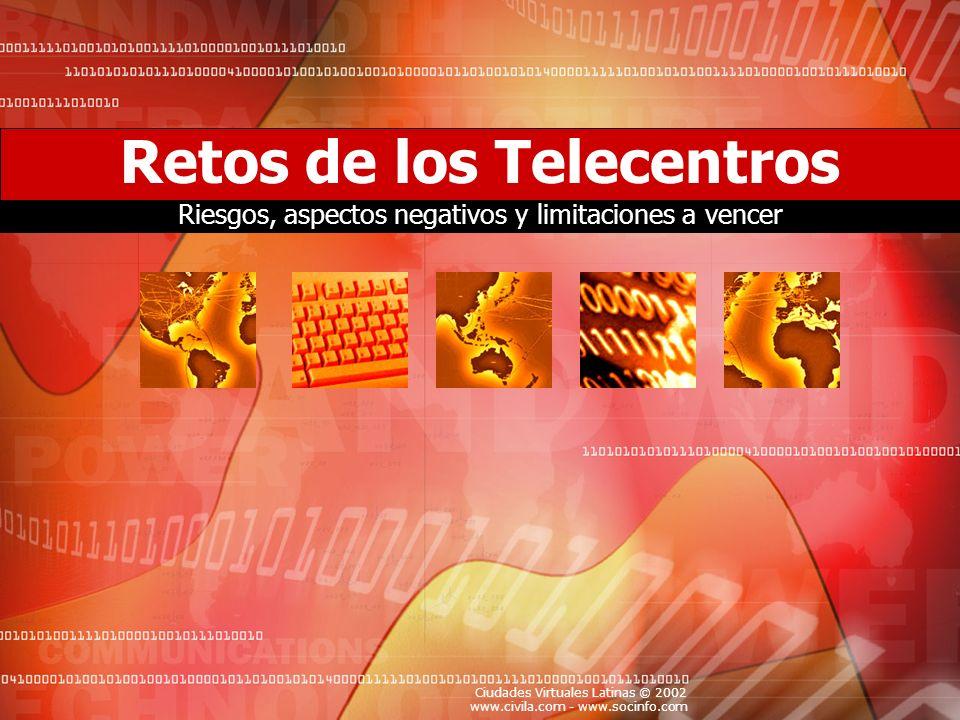 Retos de los Telecentros