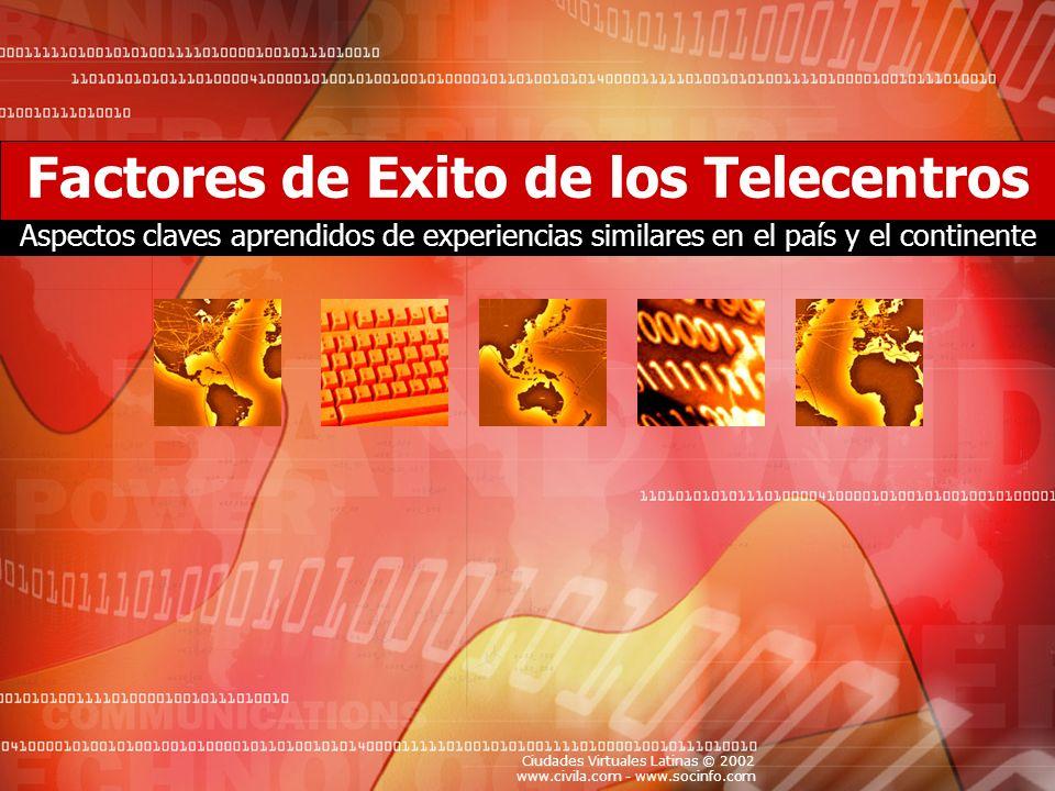 Factores de Exito de los Telecentros