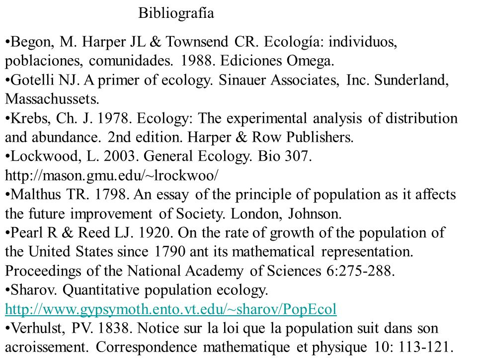 an essay on the principles of ecology 2 population interspersion: an essay on animal community patterns but if he has  some clear principles by which to sort out the material, great advances are.