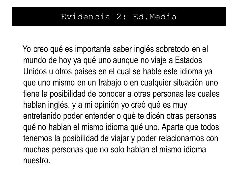 Evidencia 2: Ed.Media