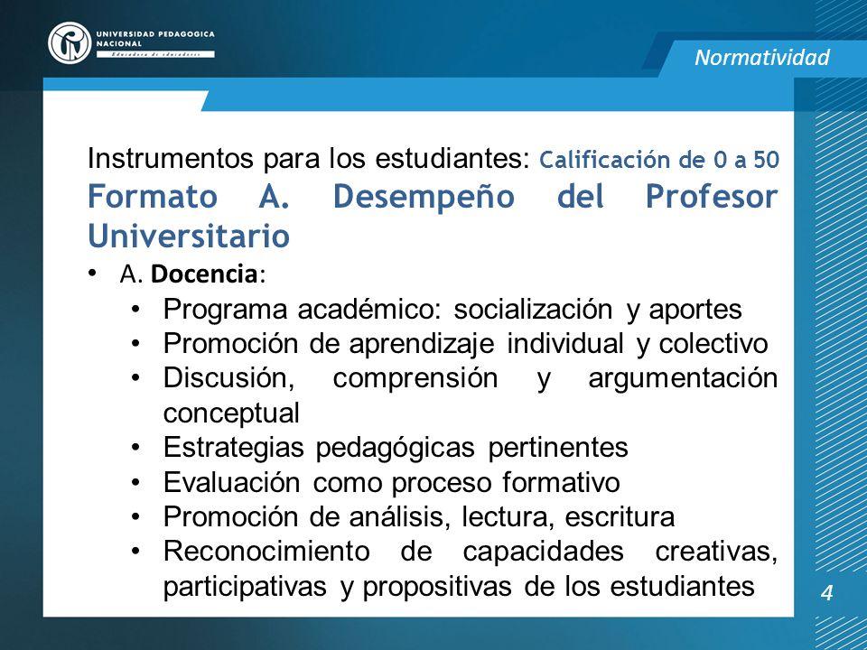 Programa académico: socialización y aportes