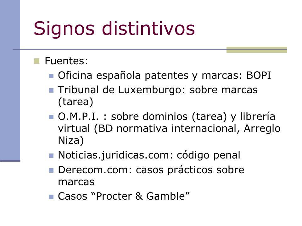 Propiedad industrial signos distintivos online ppt descargar for Oficina patentes y marcas