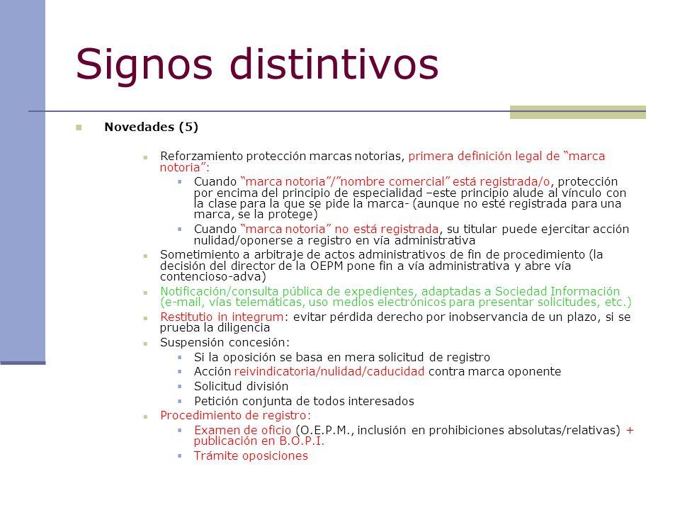 Signos distintivos Novedades (5)