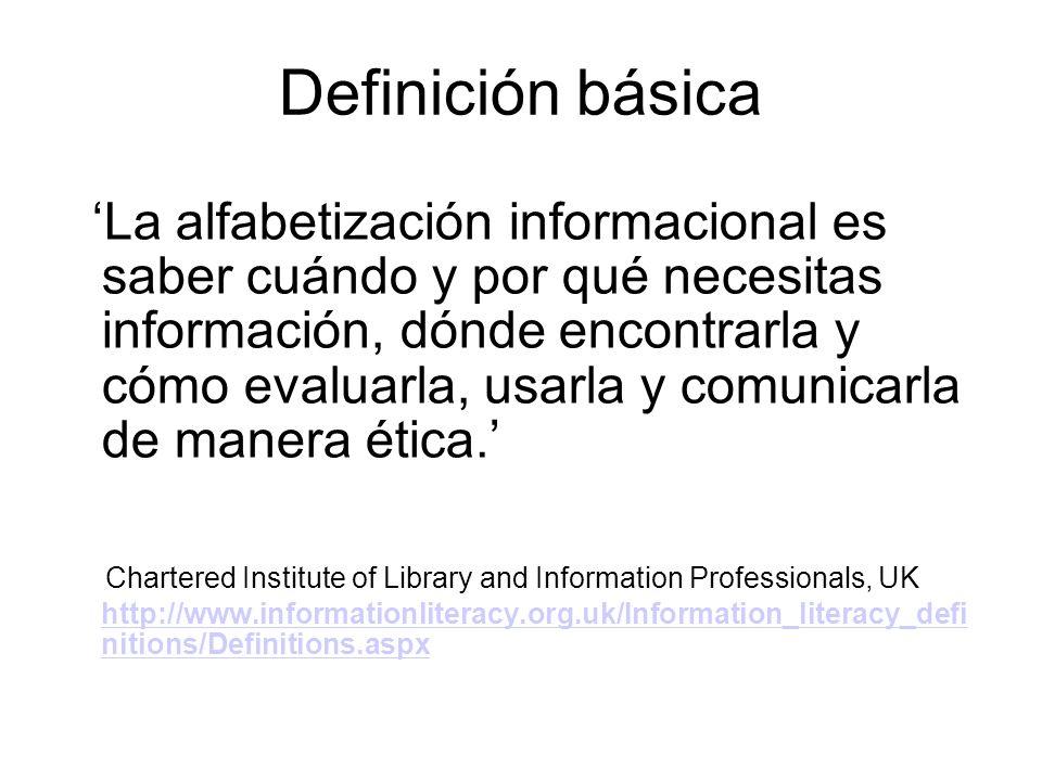 Definición básica