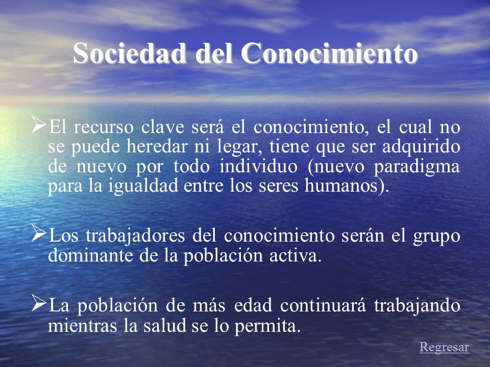 Sociedad del Conocimiento