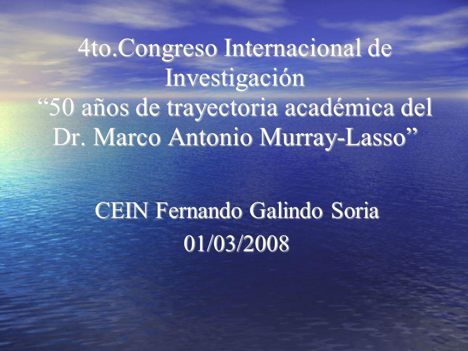 CEIN Fernando Galindo Soria