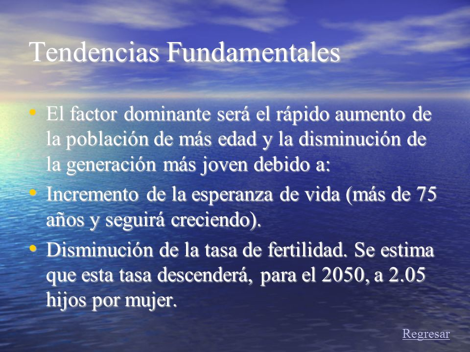 Tendencias Fundamentales