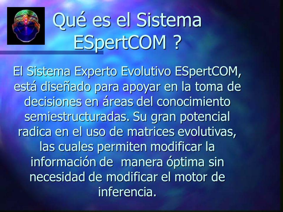 Qué es el Sistema ESpertCOM