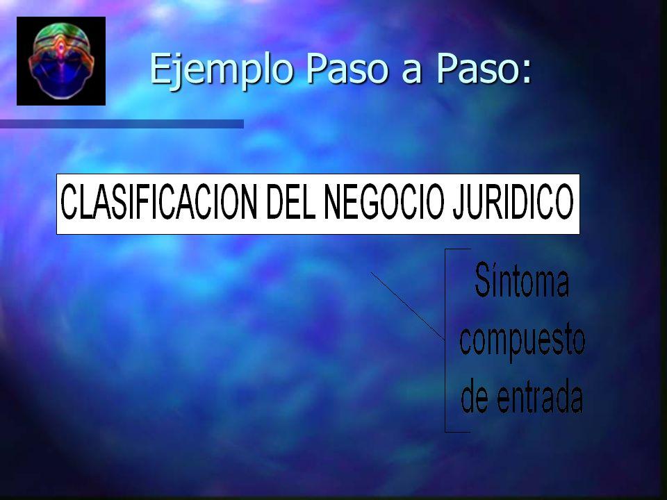 Ejemplo Paso a Paso:
