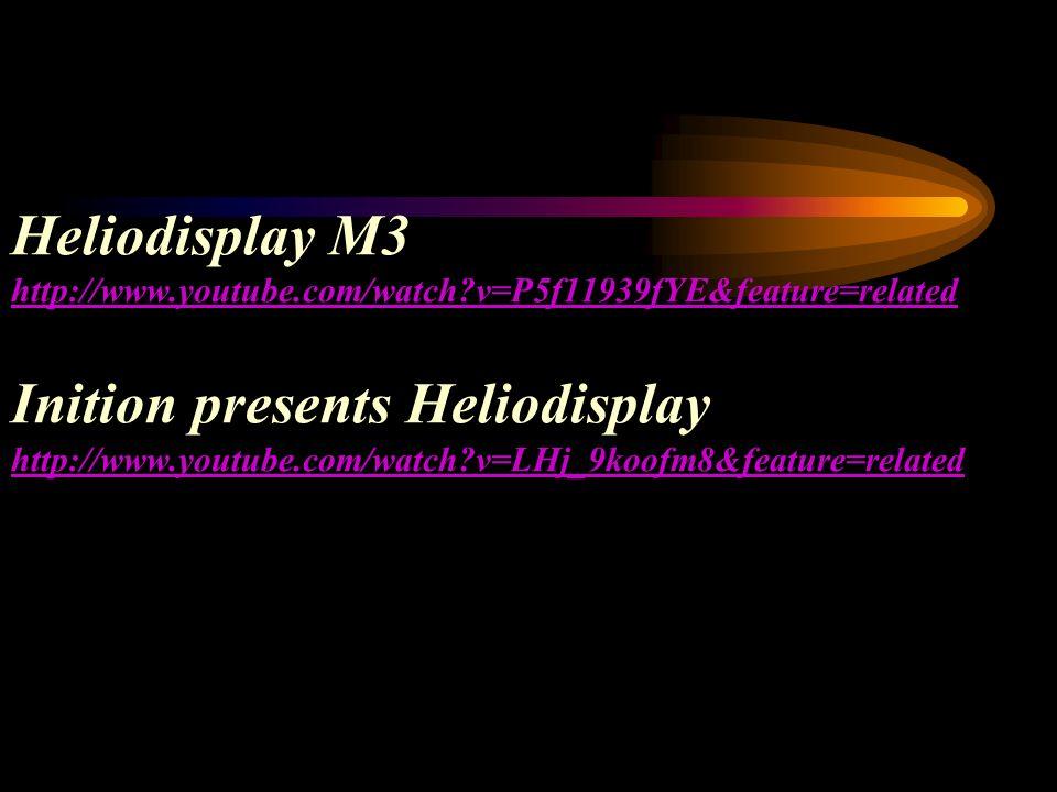 Heliodisplay M3 http://www. youtube. com/watch